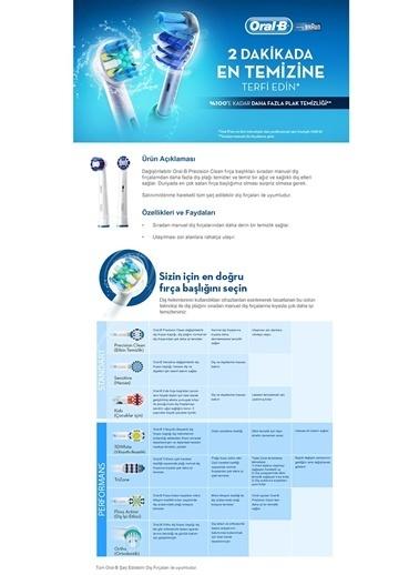 Yedek Başlık Precision Clean 4 adet-Oral-B